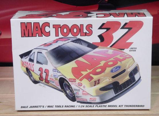 #32 MAC Tools Dale Jarrett 1994 Monogram Kit Sealed