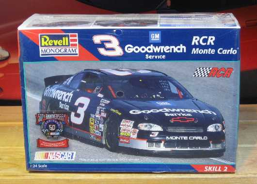 # 3 Goodwrench Dale Earnhardt 1997 Monogram Kit Sealed