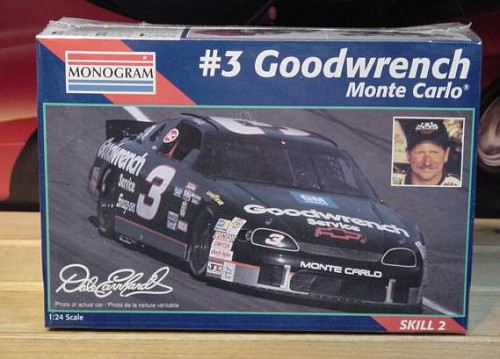 # 3 Goodwrench Dale Earnhardt 1995 Monogram Kit Sealed