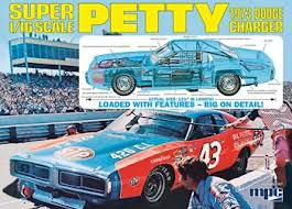 #43 STP Richard Petty 1/16 Scale 1973 Charger MPC Kit Sealed