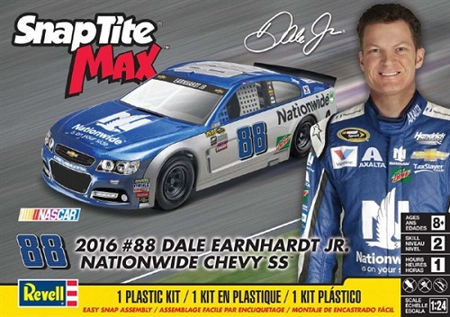 #88 Dale Earnhardt Jr 2016 Chevy SS Revell Kit NEW!