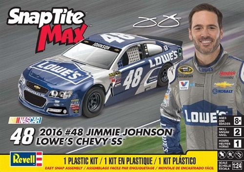 #48 Lowe\'s Jimmie Johnson 2016 Chevy SS Revell Kit NEW!