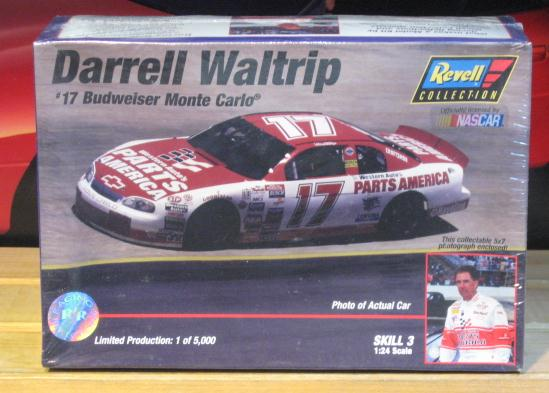#17 Bud Colors Darrell Waltrip 1997 Racing Reflections Kit