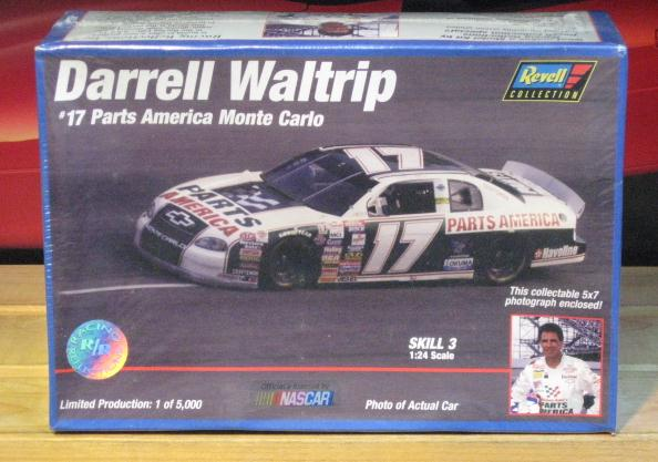 #17 Mountain Dew Colors Darrell Waltrip 1997 Racing Reflections Kit