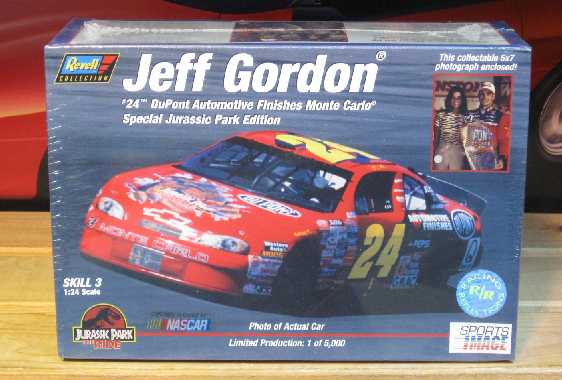 #24 Jurassic Park Jeff Gordon 1997 Racing Reflections Kit Sealed