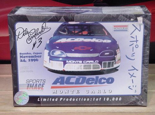 # 3 AC Delco Dale Earnhardt Japan Racing Reflections Kit Sealed