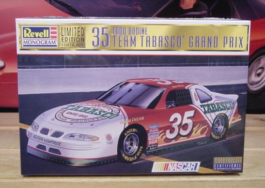 #35 Tobasco Todd Bodine 1997 Revell Kit Sealed