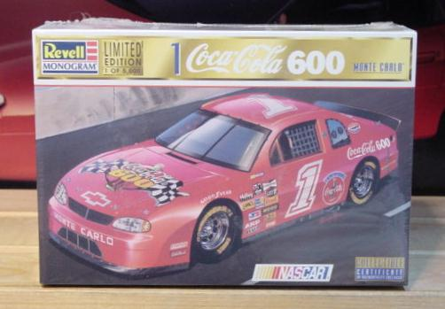 # 1 Coca Cola 600 Pace Car 1998 Revell Kit Sealed