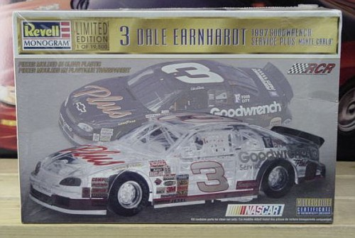 # 3 Goodwrench Dale Earnhardt Clear Monte Carlo Kit Sealed