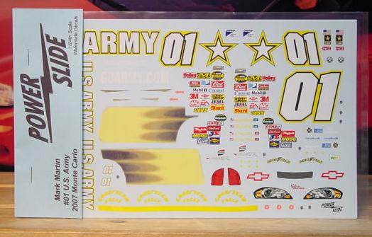 # 01 Army Mark Martin 2007 Powerslide