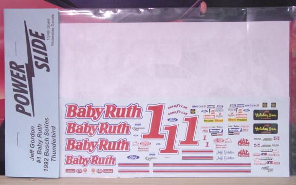 # 1 Baby Ruth Jeff Gordon Powerslide