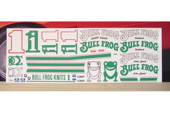 # 1 Bull Frog Lake Speed 1984 Fred Cady 142