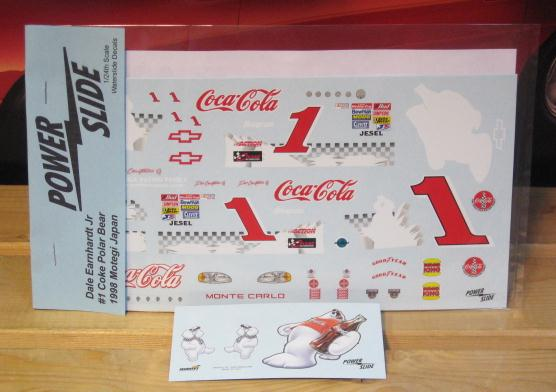 # 1 Coca Cola Japan Dale Earnhardt Jr Powerslide
