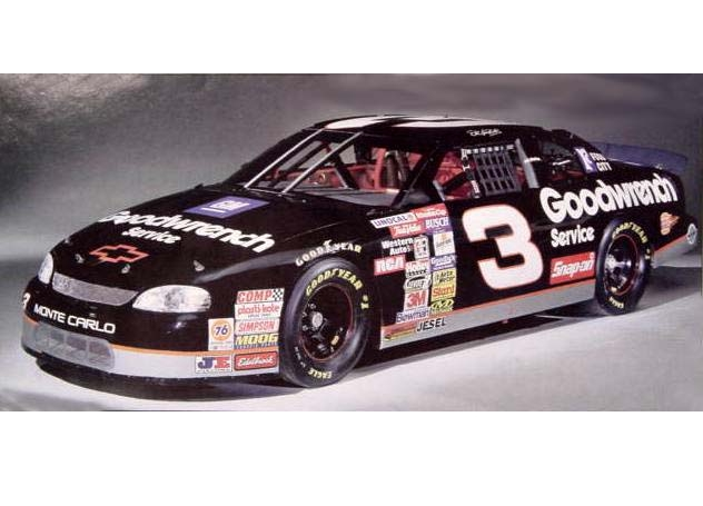 # 3 Goodwrench Dale Earnhardt 1/10 Scale