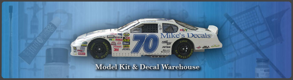 Nascar Decals - Mike's Decals