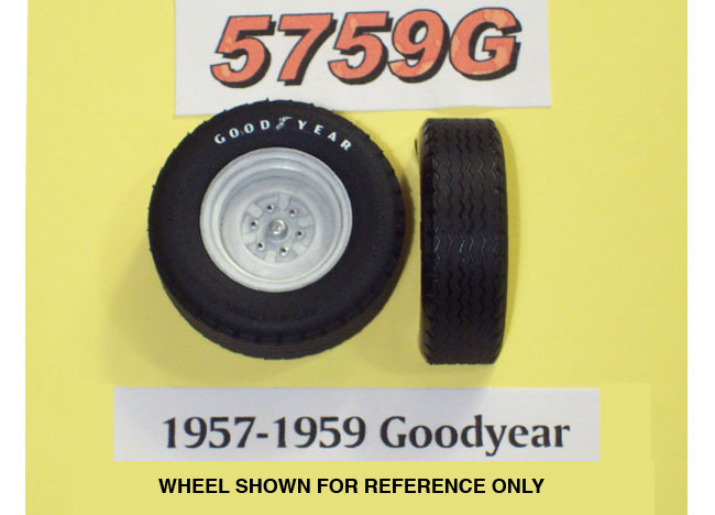 PPP 5759G 1957-59 Goodyear Tires