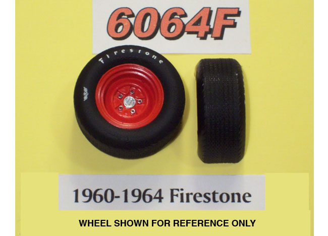 PPP 6064F 1960-64 Firestone Tires