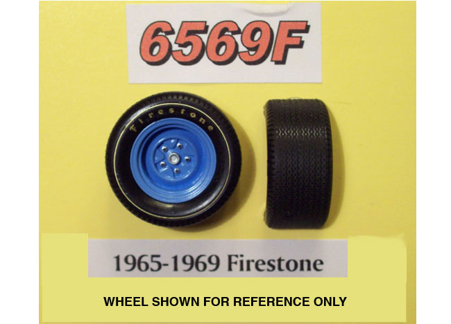 PPP 6569F 1965-69 Firestone Tires