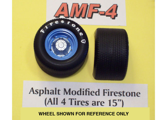 PPP AMF-4 Asphalt Modified Firestone Tires