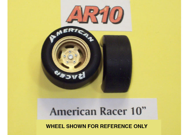 "PPP AR10 American Racer 10"" Tires"