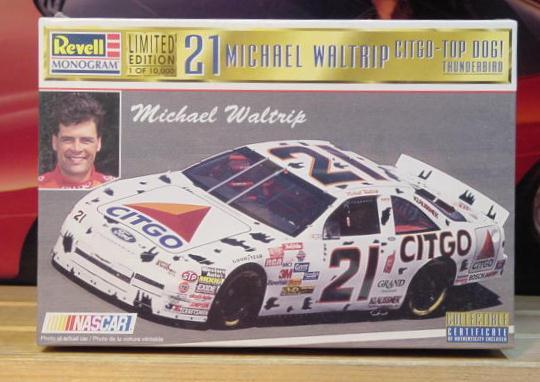 #21 Citgo Top Dog Michael Waltrip 1997 Revell Kit Sealed